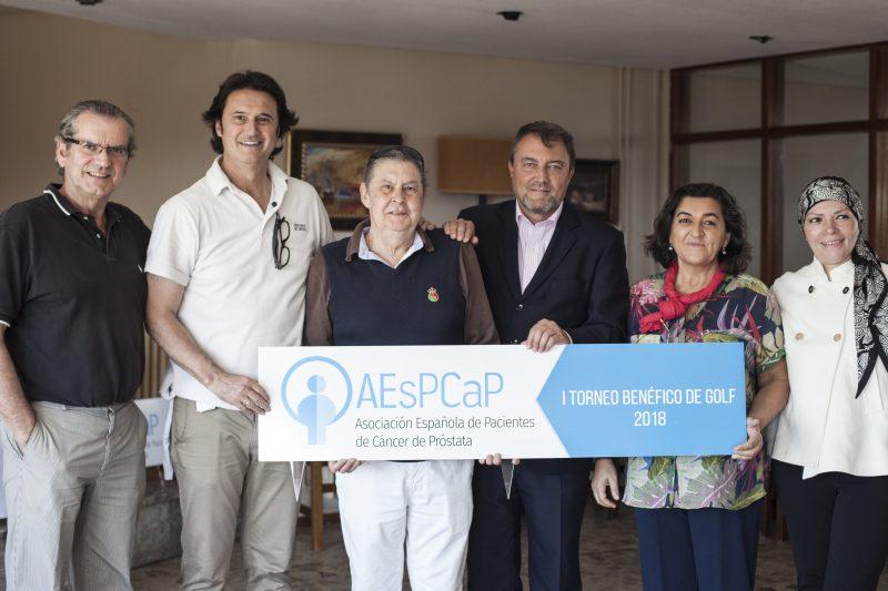"""I torneo benéfico de Golf de la Asociación Española de Pacientes de Cáncer de Próstata (AEsPCaP) """"Un torneo divertido, para todas las edades y… ¡durillo!"""""""